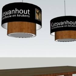 3D Foto von Katsvanhout Lampenschirme