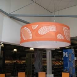 bedruckte Lampenschirme 150cm