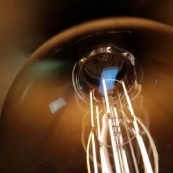 LEDlamp Close up