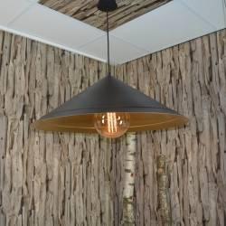 Metalenlamp