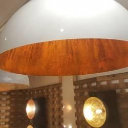 Halbkugel Lamp 100cm, hochglanz