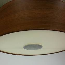 Holzschirmmitdownlight