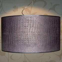 Lampenschirm Tierhautdruck
